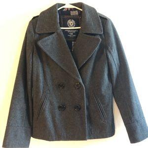 Women's American eagle pea coat